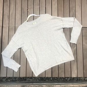 RUBY MOON Cream Knit Long Sleeve Crew Neck Sweater